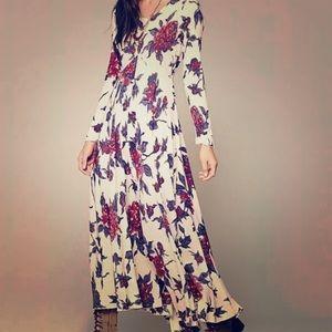 Free People First Kiss Floral Maxi Dress